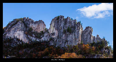 Photograph - Seneca Rocks 2 by David Lester