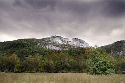 Seneca Rocks Art Print by Michael Donahue