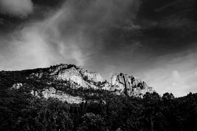 Seneca Rocks Print by Shane Holsclaw