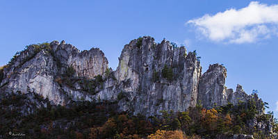 Photograph - Seneca Rocks West Virginia by David Lester