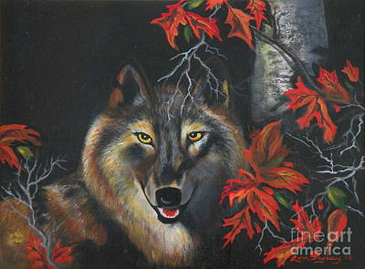 Painting - Seneca  by Lora Duguay