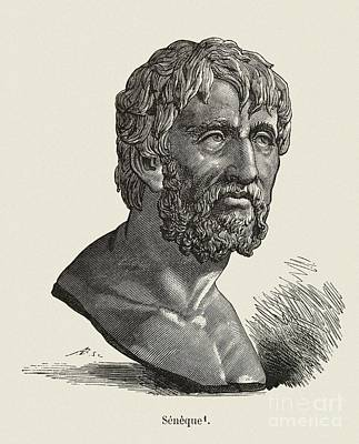 The Orator Photograph - Seneca The Elder, Roman Orator by Middle Temple Library