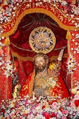 Senhor Santo Cristo Dos Milagres Print by Gaspar Avila
