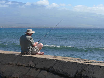 Photograph - Senior Fisherman by John Orsbun