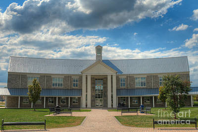 Photograph - Senior Hall South by Mark Dodd