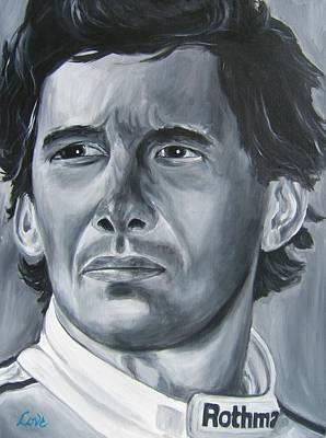 Senna Daze Art Print by Joseph Love