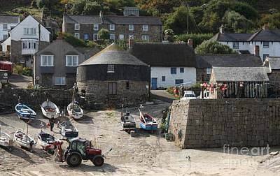 Habor Photograph - Sennen Cove by Linsey Williams
