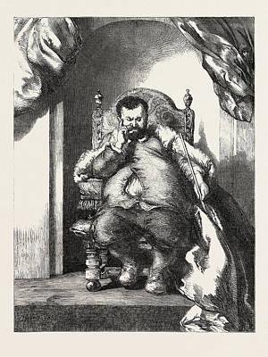 Senor Don Sancho Panza, Governor Of Barataria Art Print