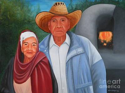 Painting - Senor Y Senora Sanchez by Lora Duguay