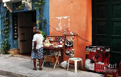 Senora De Cartagena Art Print by John Rizzuto