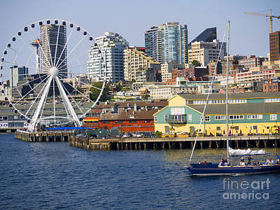 Photograph - Sensational Seattle by Brenda Kean