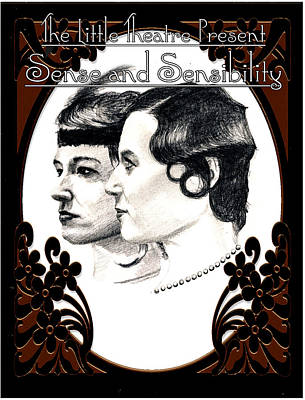 Drawing - Sense And Sensibility by Steve Jones