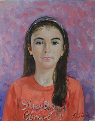 Painting - Sensila by Sefedin Stafa