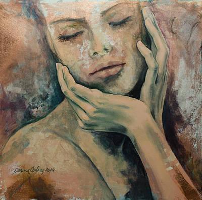 Painting - Sensing... by Dorina  Costras