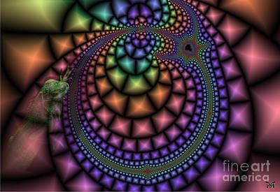 Digital Art - Sensitive by Maria Watt