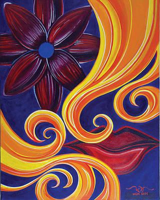 Painting - Sensual by Divinity MonSun Chan
