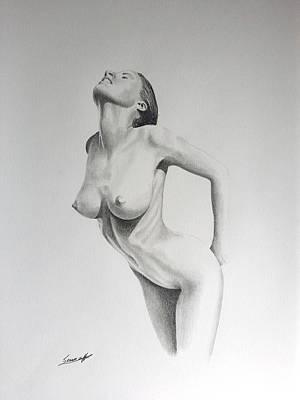 Bdsm Drawing - Sensual II by Sean Afford