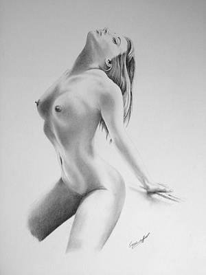 Bdsm Drawing - Sensual IIi by Sean Afford