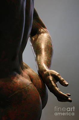 Sensual Sculpture Art Print by Mary-Lee Sanders