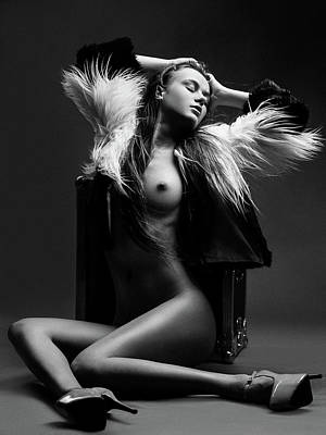Nude Portraits Photograph - Sensuality by