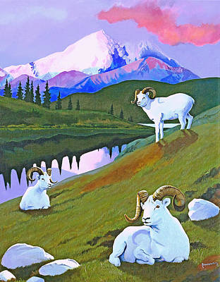 Painting - Sentinel Denali by Susan McNally