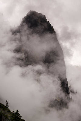 Photograph - Sentinel Rock In A Spring Storm At Yosemite Valley by Joe Doherty