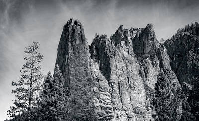 Photograph - Sentinel Rock At Yosemite National Park by John M Bailey