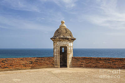 Photograph - Sentry Box In Old San Juan Puerto Rico by Bryan Mullennix