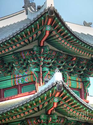 Seoul Palace Art Print by Michael Garyet