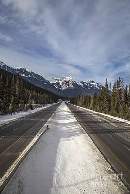 Alberta Rocky Mountains Photograph - Separate Ways by Evelina Kremsdorf