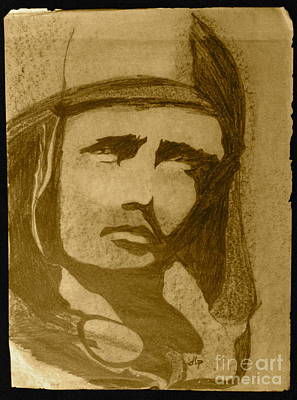 Sepia Aviator Original by Diane Phelps