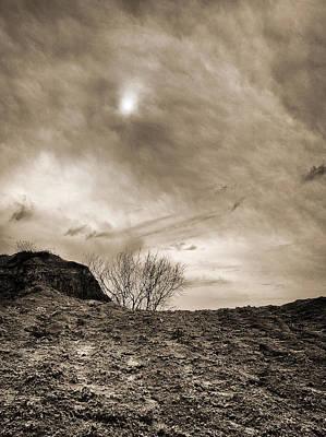 Photograph - Sepia Skies by Meir Ezrachi