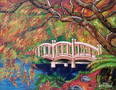 Painting - September Bridge by John Keaton