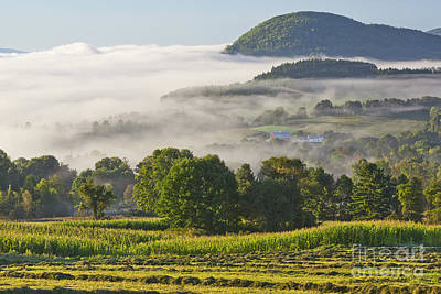 Photograph - September Country Morning by Alan L Graham