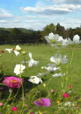 Digital Art - September Garden by Denise Dempsey Kane