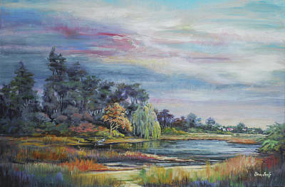 Painting - September Morning by Sharon Sorrels