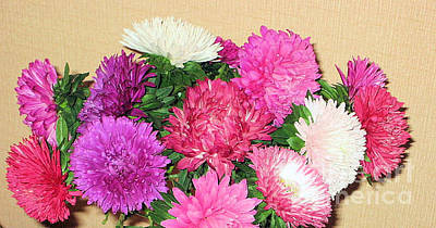 Photograph - Astray Flowers.september-october by Oksana Semenchenko