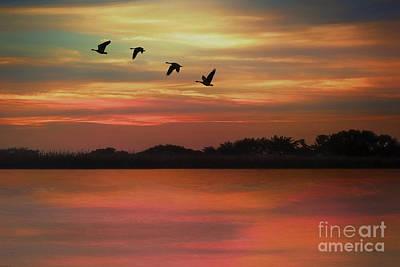 September Sky Art Print by Tom York Images