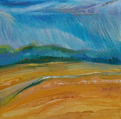 Painting - September Storm by Dawn Vagts
