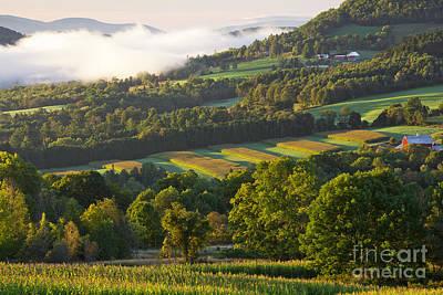 Photograph - September Sunrise Landscape by Alan L Graham