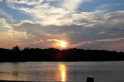 Dragonflys Photograph - September Sunset by Donna Wilson