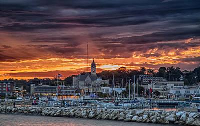 Port Washington Photograph - September Sunset by Jeffrey Ewig