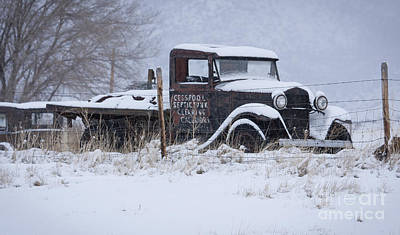 Photograph - Septic Truck by Idaho Scenic Images Linda Lantzy