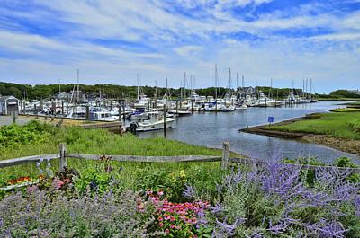 Photograph - Sequatucket Harbor by Allen Beatty