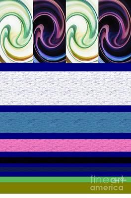 Digital Art - Sequence 2 by Ann Calvo