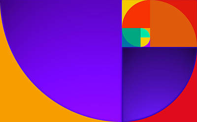 Golden Mean Painting - Sequence by Charles Stuart