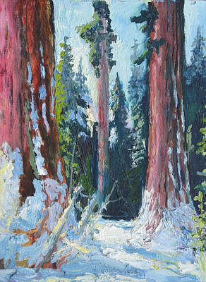 Sequoia National Park Painting - Sequoia National Park by Erik Holland