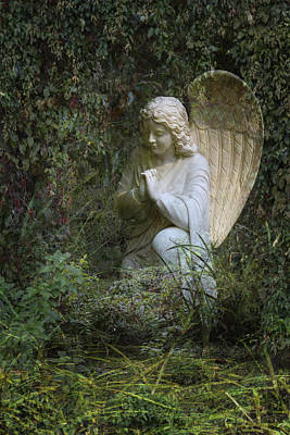 Photograph - Seraphim Angel Garden by Ella Kaye Dickey