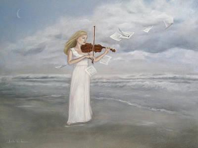 Painting - Serenade by Junko Van Norman