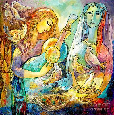 Serenade Art Print by Shijun Munns